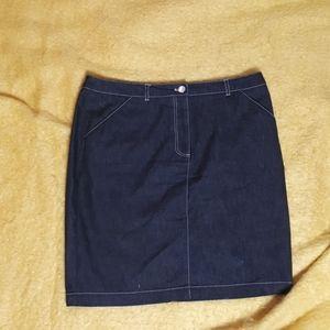 New York Clothing Company Denim Skirt